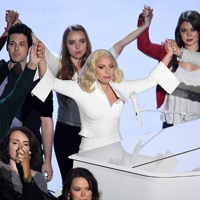 Red Carpet: Sexual Assault Survivors Who Took Oscars Stage with Lady Gaga Call Singer 'Vulnerable' and 'Real' Say Experience 'Was Amazing'