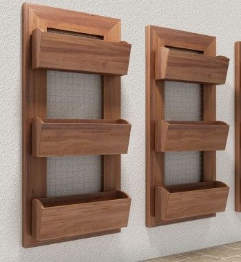 Painel Horta Vertical Simples 110x50                                                                                                                                                     Mais