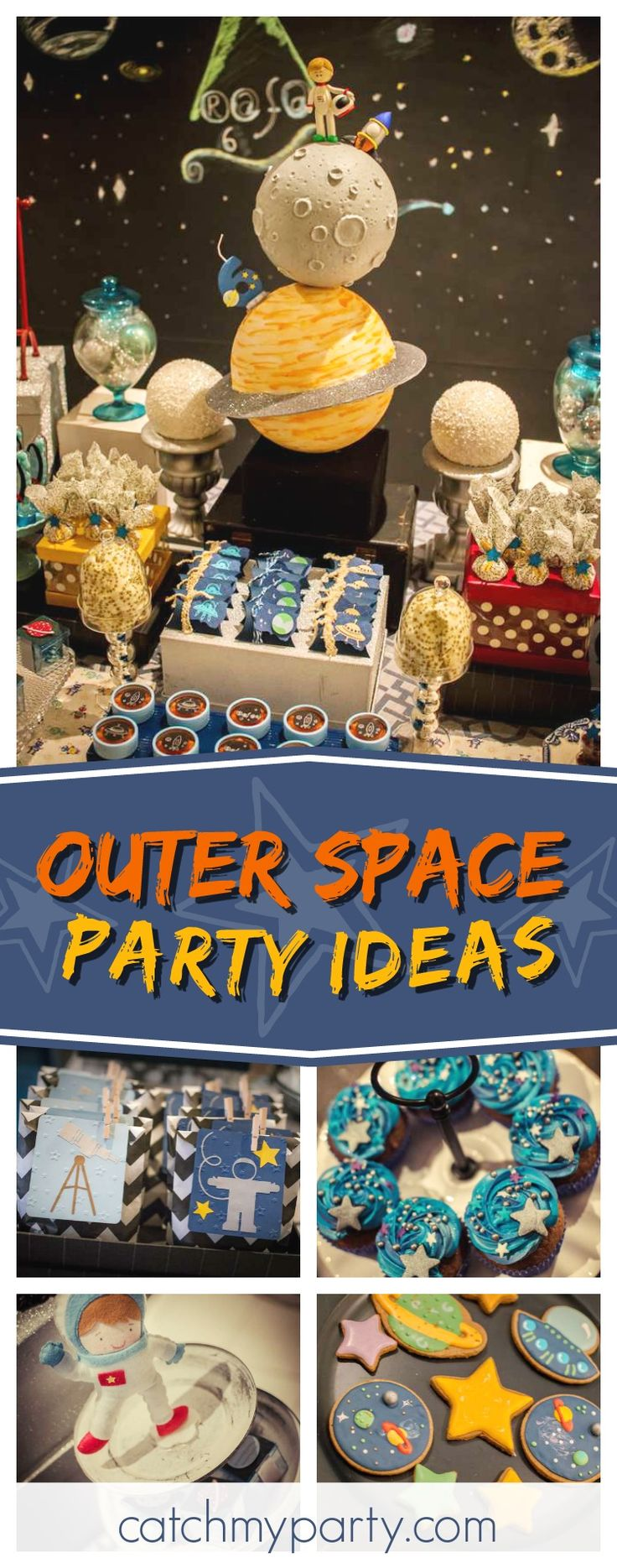 194 best outer space party ideas images on pinterest for Decorations for outer space party