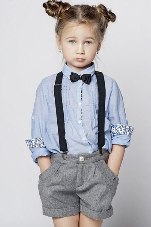 Adorable Kids Clothing With Tomboy Style