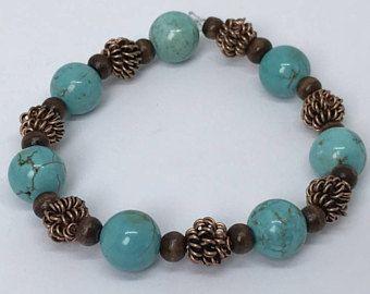 Braided bead bracelet Organza ribbon tie.  Seed bead