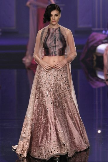Lehenga by Manish Malhotra for an Indian wedding
