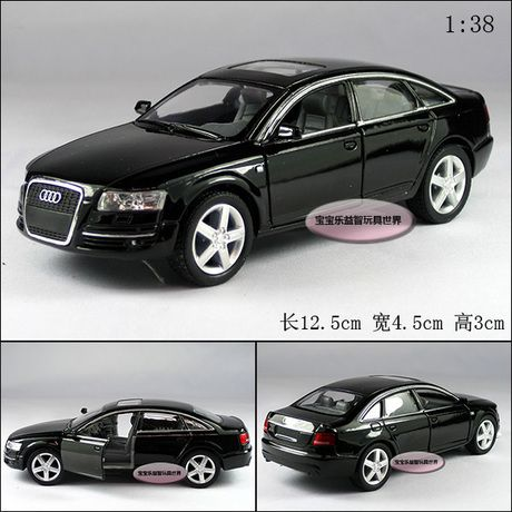 Candice guo! New arrival Kinsmart super cool 1:38 mini AUDI A6 car alloy model car toy 1pc //Price: $17.75 & FREE Shipping //     #hashtag1