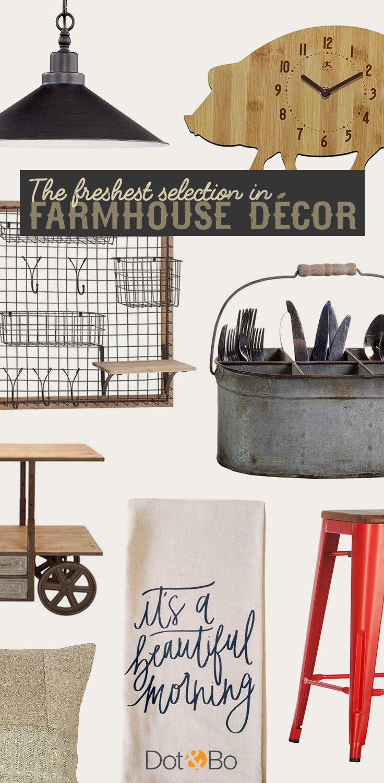 Farmhouse Favorites: Our most beloved rustic designs. Shop Now at dotandbo.com!