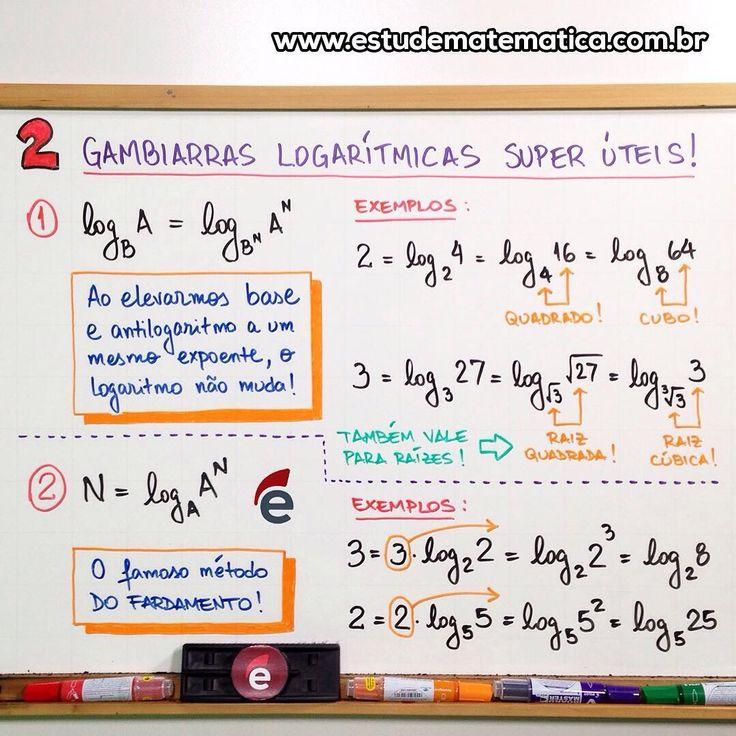 Logaritmo #matematica