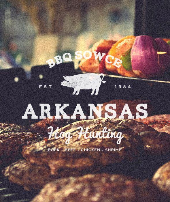 "BBQ Sowce - ""Vintage BBQ Restaurant Label/Badge"" Buy from - http://graphicriver.net/item/premium-quality-8-vintage-labels-col-n4/6361247?WT.ac=portfolio&WT.seg_1=portfolio&WT.z_author=SAOStudio"