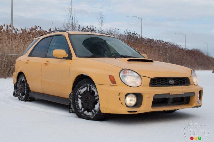 Matt's ''Big Bird'' wearing #Toyo #Celsius #tires  2003 #Subaru #WRX #Wagon #SpecR1