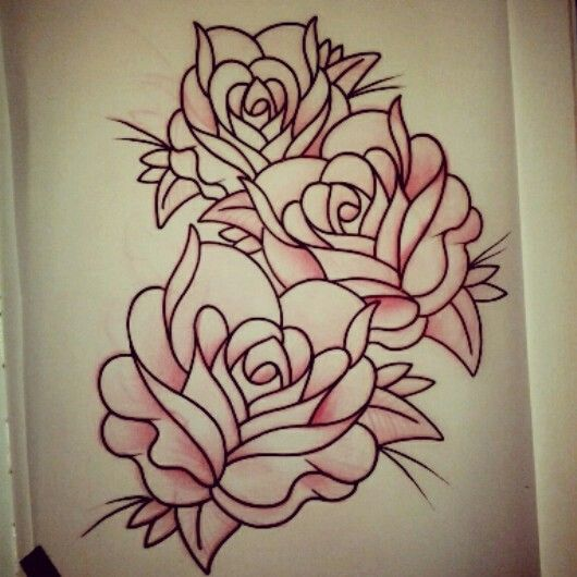 Original rose tattoo design by gustavo at iron lotus in for Iron lotus tattoo