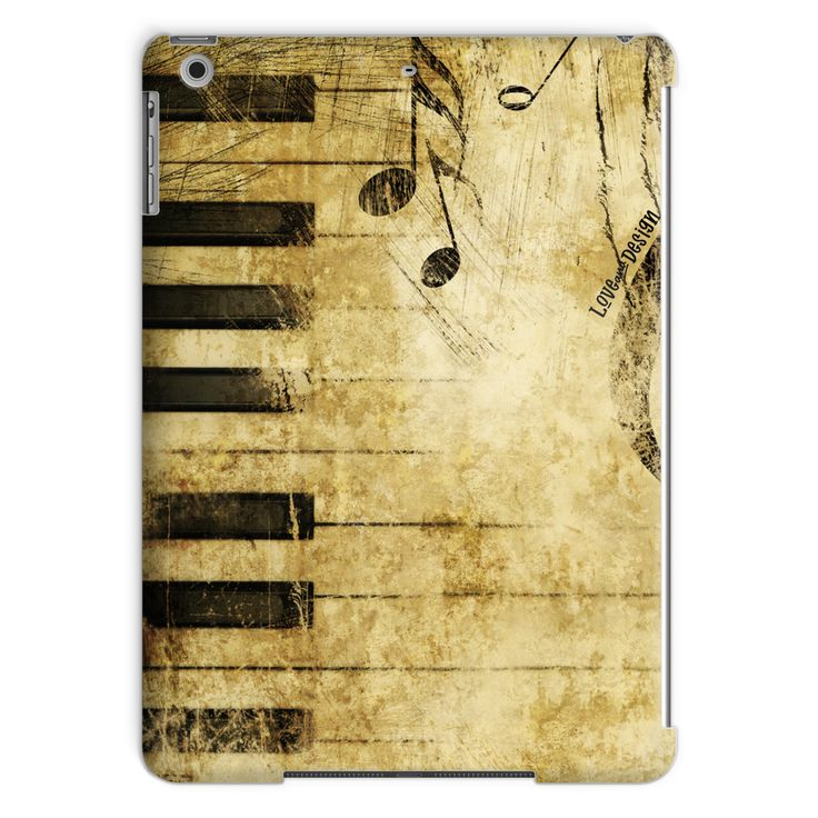 Love and Design M... - click through http://loveanddesign.com/products/love-and-design-music-and-piano-brand-tablet-case?utm_campaign=social_autopilot&utm_source=pin&utm_medium=pin