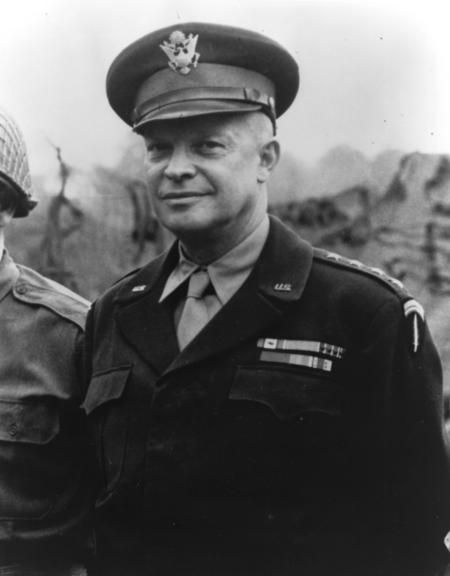 """We will accept nothing less than full Victory! Good luck! And let us beseech the blessing of Almighty God upon this great and noble undertaking."" -- General Dwight D. Eisenhower, Order of the Day (2 June 1944). Message to troops before the Normandy landings"