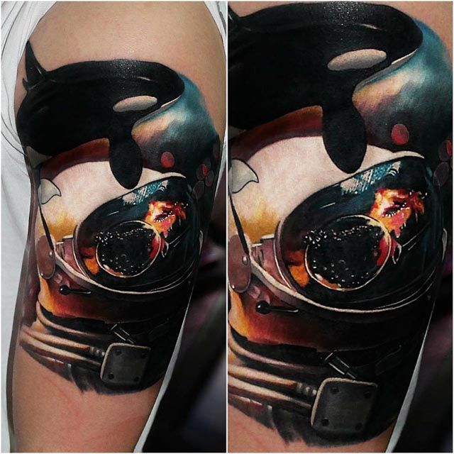39 Best Images About Space Tattoo On Pinterest