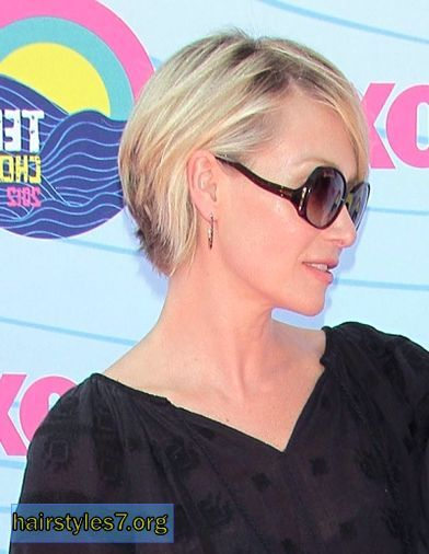 portia de rossi short hair | Portia de Rossi's cropped cut, cropped hairstyles