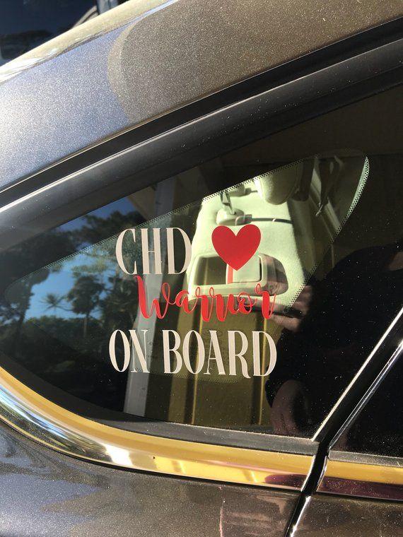 Chd Warrior Car Decal Chd Warrior