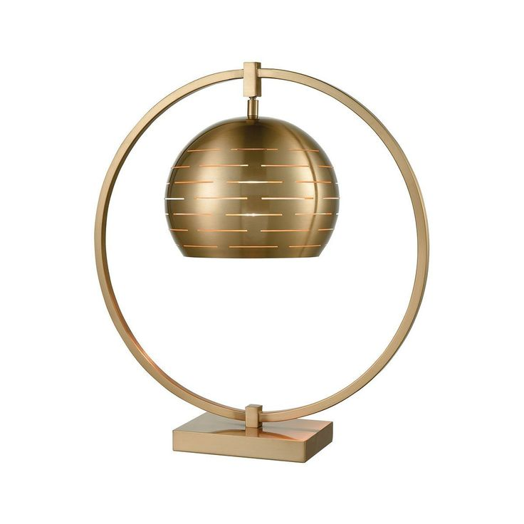 Atmospheric Circulation Table Lamp by Dimond Lighting