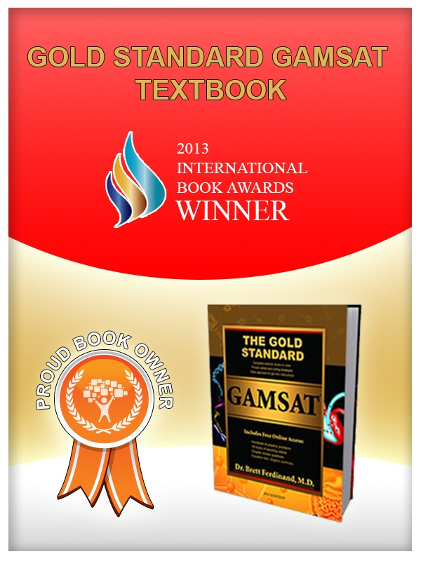 Pin this badge if you own a Gold Standard GAMSAT textbook and join our community of proud book owners. :)