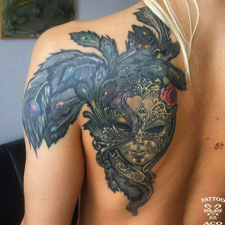 Pin By Mirza Ribic On Tattoo Ideas: Tattoos, Venetian Mask Tattoo