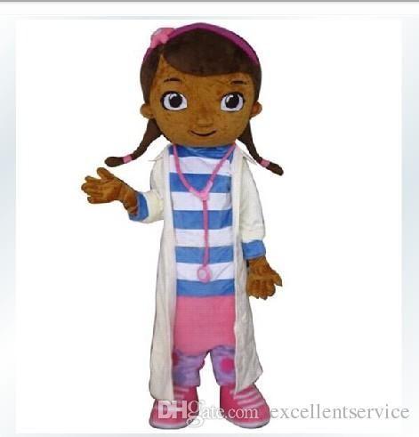 Wholesale Dottie Mcstuffins - Buy Dottie McStuffins Doc McStuffins Mascot Costume Adult Size Classic Party Costumes Fancy Dress Suit Mi, $151.84 | DHgate.com