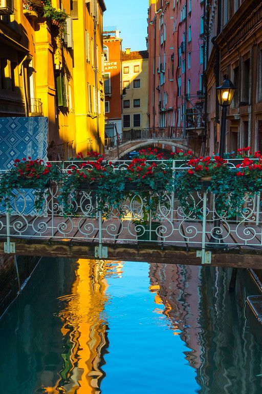 The Canals Of Beauty - Venice, Italy. By Kevin McNeal