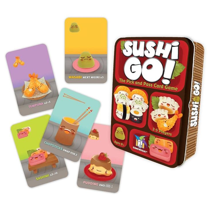 Sushi Go! The Card Game