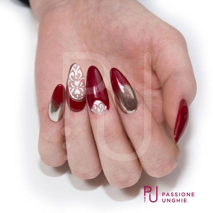 Oltre 25 fantastiche idee su unghie a specchio su - Polvere effetto specchio unghie ...