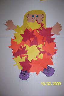 Kindergarten Rocks!: Fall Bullentin Board