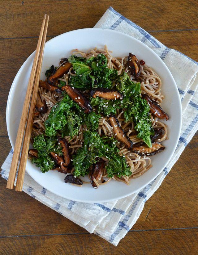 Black Garlic Soba Noodles — Appetite for China