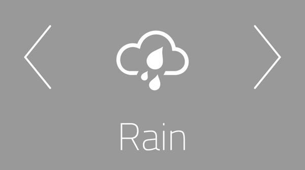 "Weather App ""Outside the window"" by Artem Svitelskyi, via Behance"