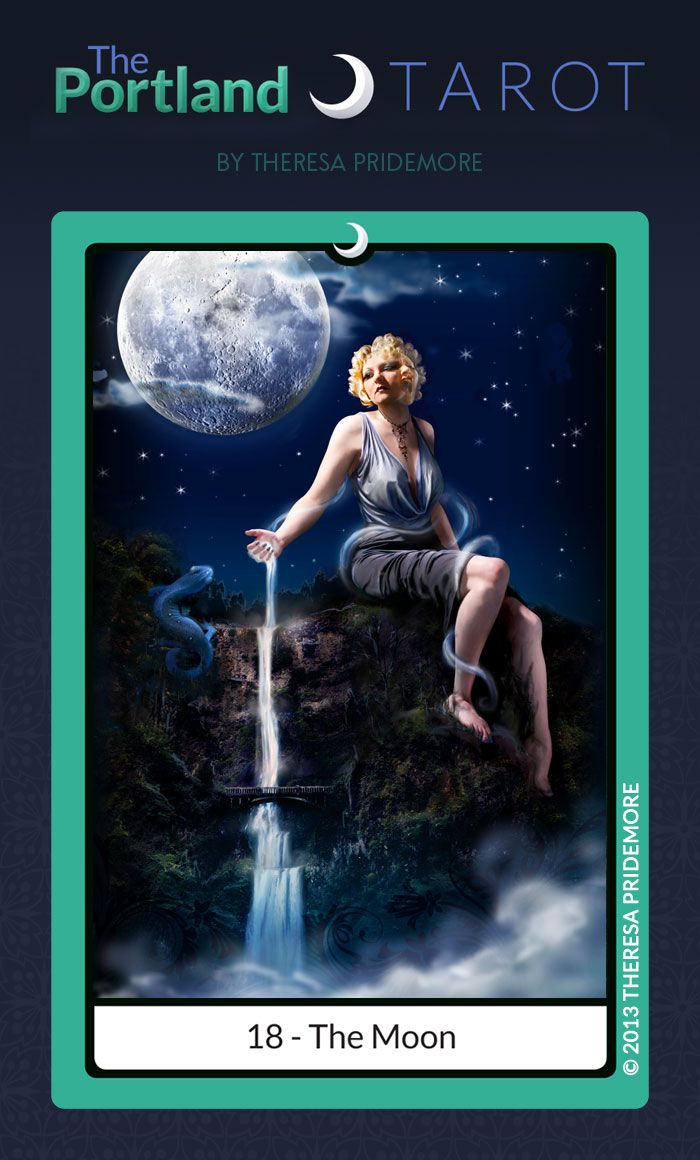 221 Best Images About Tarot 18-Moon On Pinterest