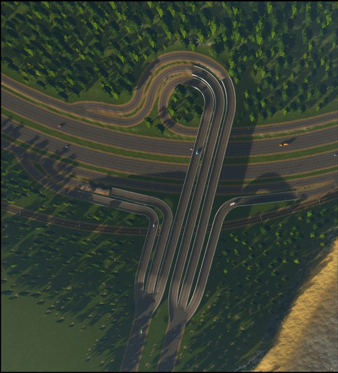 More lasagne and less spaghetti (hopefully)- 30 in-game intersections - Album on Imgur