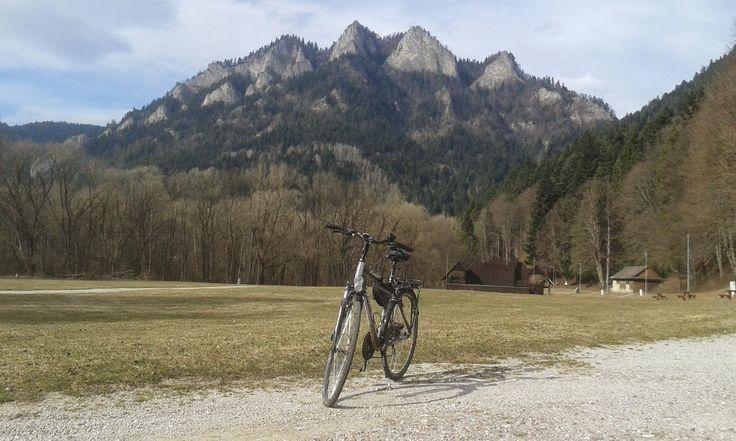 rowerem pod Trzy Korony