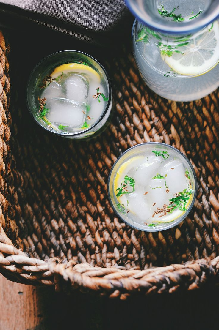 Mixed with exotic flavours of cumin, ginger and mint, bombay lemonade is the perfect thirst quencher. Recipe from @abrowntable