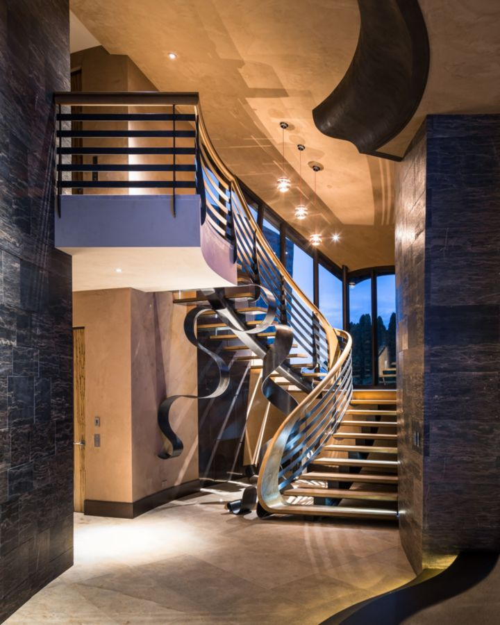 Gauge Design Group Proves Stairs Can Be The Statement Piece Of Our Home Especially When