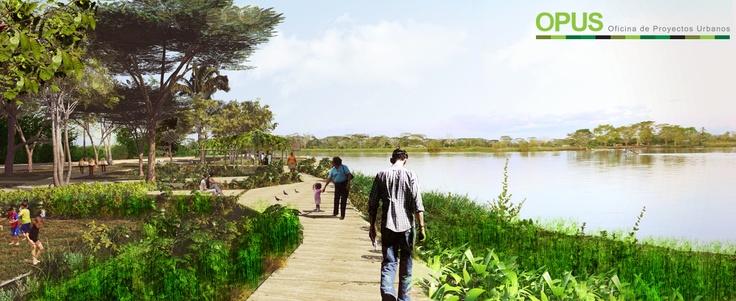 Parque de la Cruz, Jarillón