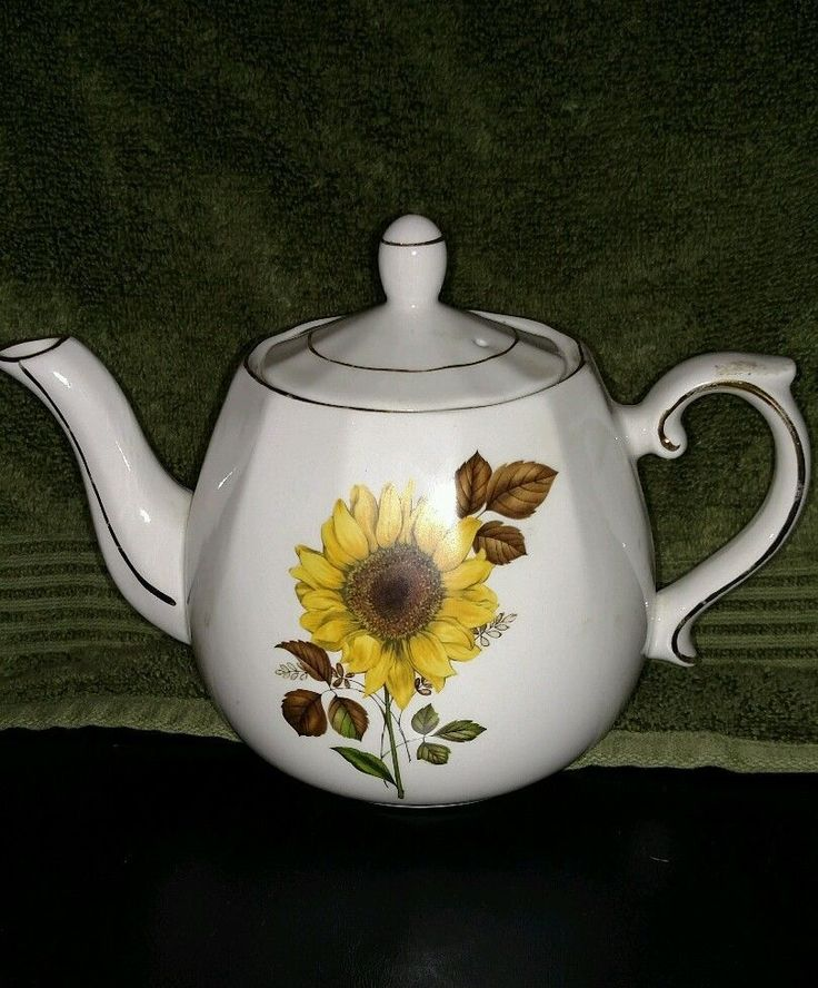 Ellgreave Wood Amp Sons Teapot Made In England