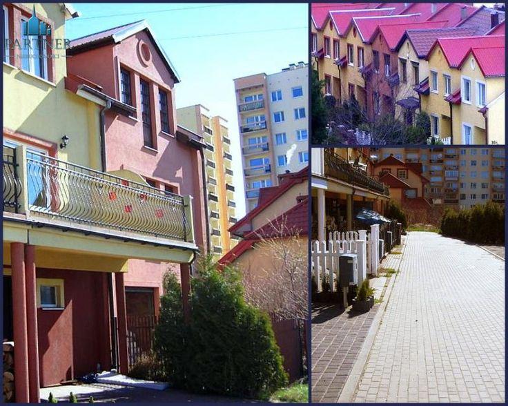 Dom szeregowy, Gdynia Pogórze, 200.00 m2 Skrajny dom szeregowy w Gdyni-Pogórzu. 195 m2 na trzech kondygnacjach z możliwością podziału na dom dwurodzinny.