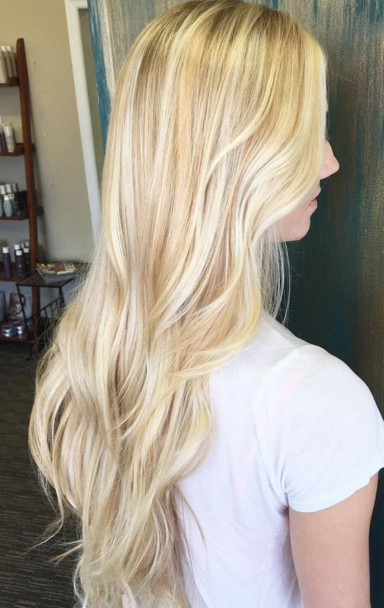 Best 25 Bright Blonde Hair Ideas On Pinterest Blonde