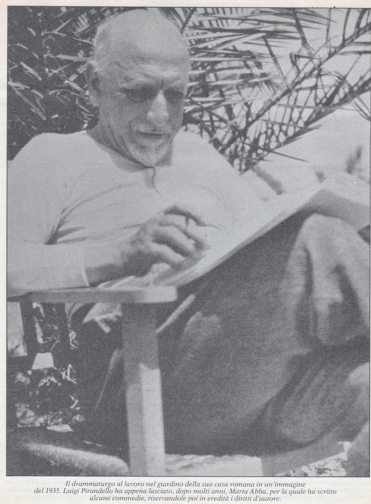 Luigi Pirandello, 1935.
