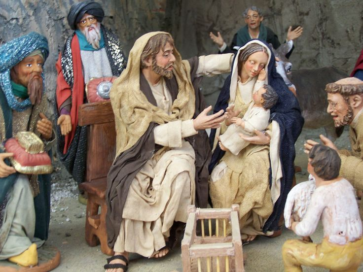 12 Days To Christmas 9of12 - Basilicata, Italy, Christmas Nativity, Presepe
