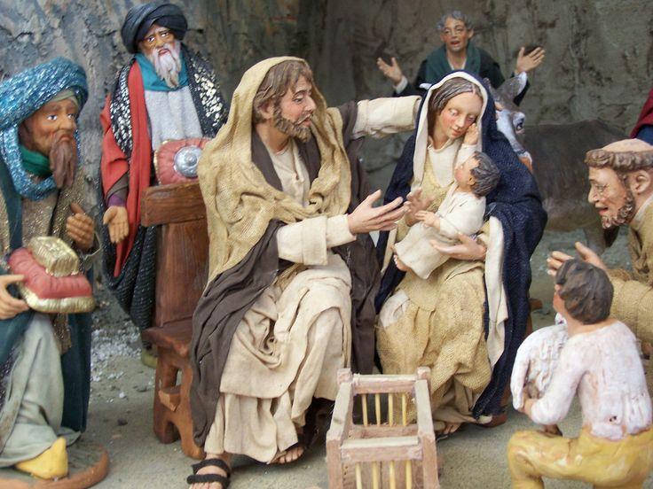 12 Days To Christmas 9of12 - Basilicata, Italy, Christmas Nativity, Presepe