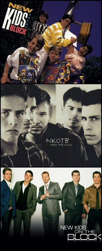 NKOTB! They get better and better and better...still hangin tough!