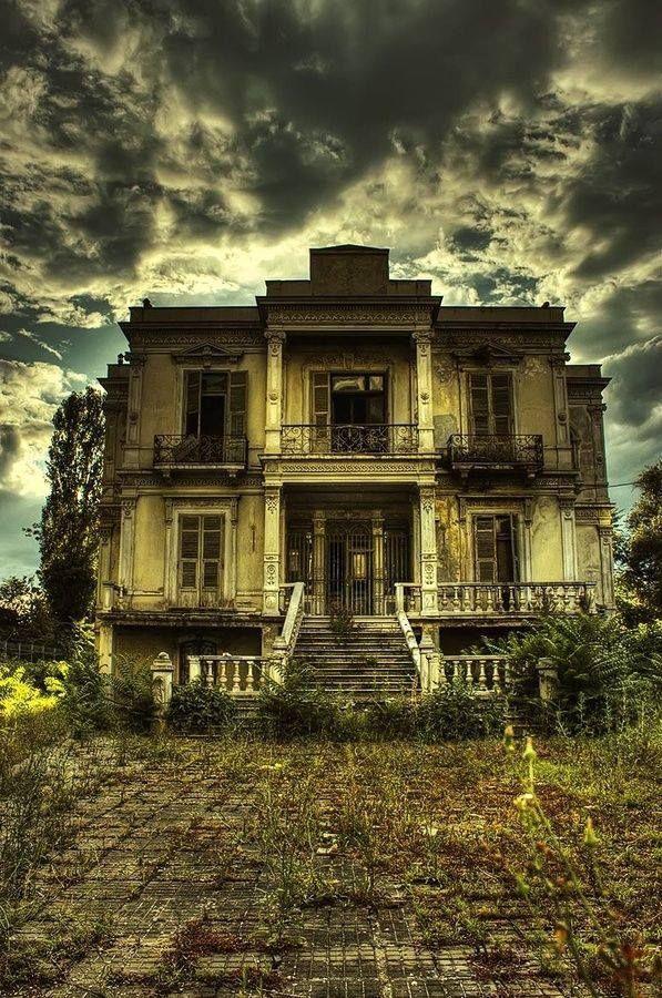 Dark House Thessaloniki - Greece, via Christine Aldridge