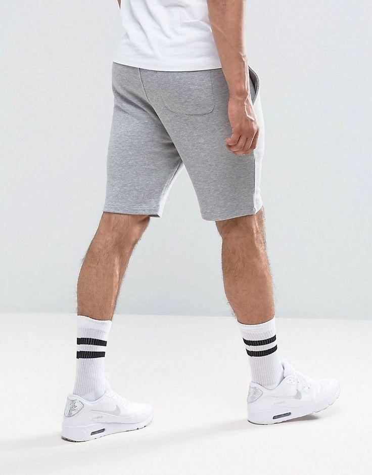 ASOS Jersey Skinny Shorts 2 Pack Pink/Gray Marl SAVE - Multi
