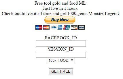 Hack para Monster Legends - Comida y Oro [100k food - 200k gold]