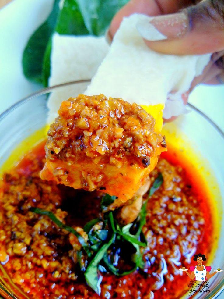 Dobbys Signature: Nigerian food blog | Nigerian food recipes | African food blog: Ugba Sauce (Ukpaka sauce)