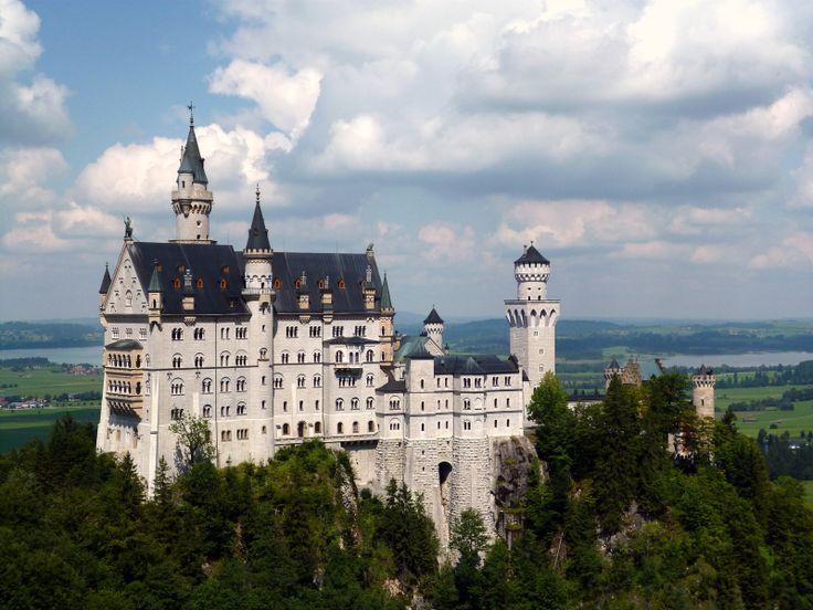 ALEMANIA, Alpes Bavaros , Castillo de Neuschwanstein