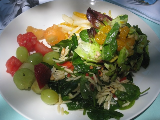 spinach orzo salad | Vegan Sips, Snacks, Sauces, Soups, Salads, and S ...