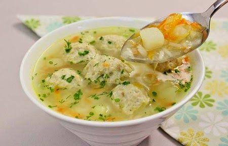 Суп с фрикадельками. | Школа шеф-повара