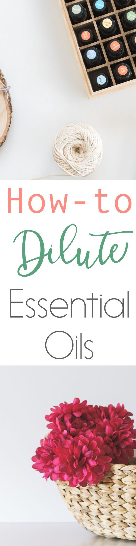 One of the top essential oil questions I receive is how to dilute essential oils. Essential oils are a powerful natural solution for families, but must be used safely. That is why it's so important to discuss how to dilute essential oils properly. Read how to dilute essential oils or pin for later! // www.simplyreeni.com