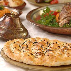Griechisches Pita-Fladenbrot