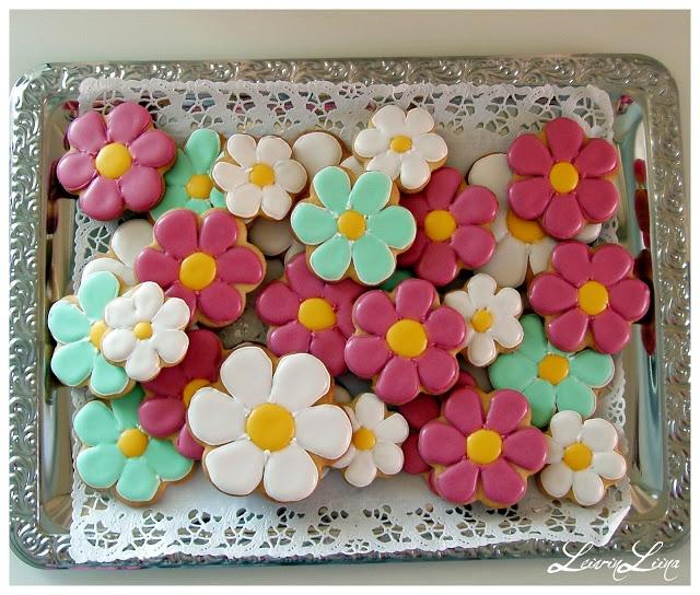 Flower Cookies - LeivinLiina